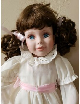 "Geppeddo 17""  Porcelain Collector Dolls Young Girl by Geppeddo"