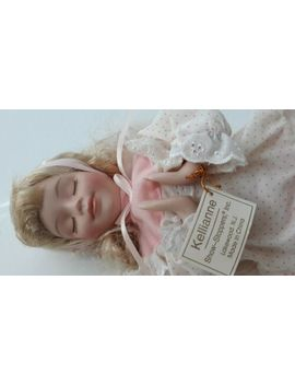 Kellieanne Porcelain Praying Doll by Ebay Seller