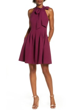 Kors Crepe Fit & Flare Dress by Vince Camuto