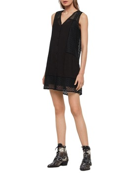 Manie Lace Shift Dress by Allsaints