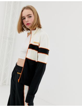 House Of Holland Missy Contrast Panelled Track Jacket by House Of Holland