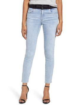 The Great Jones Two Tone Skinny Jeans by Blanknyc