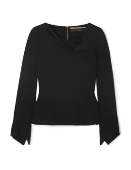 Boronia Stretch Crepe Top by Roland Mouret