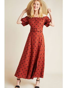 Lucienne Off The Shoulder Maxi Dress by Anthropologie