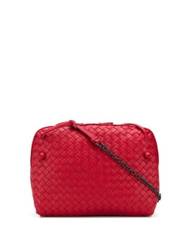 Intrecciato Effect Crossbody Bag by Bottega Veneta