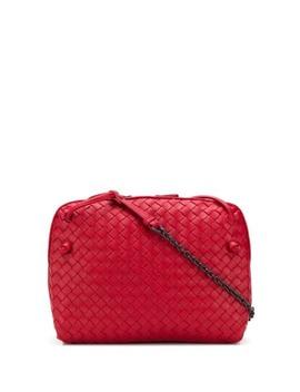 Intrecciato Effect Crossbody Bag by Bottega Veneta