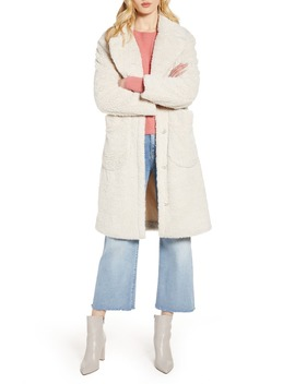 Patch Pocket Teddy Coat by Halogen®