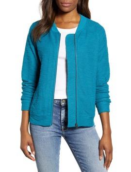 Knit Bomber Jacket by Caslon®
