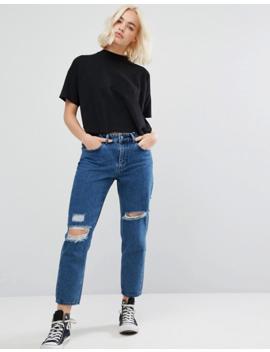 Waven Aki Boyfriend Jeans With Rips by WÅven
