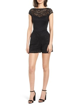 Lace Romper by Sentimental Ny