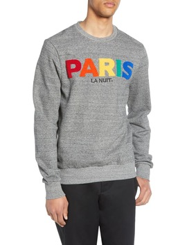 Miris Paris Bouclé Crewneck Sweatshirt by Elevenparis