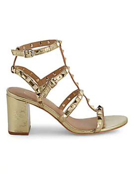 Sublime Studded Leather Sandals by Ash