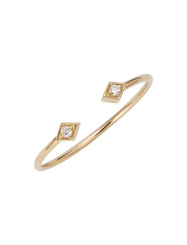 Open Diamond Ring by ZoË Chicco
