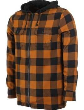 Vans             Kenton Hooded Flannel Shirt by Vans