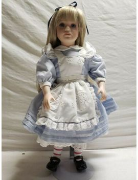 "Thelma Resch 18"" Porcelain Doll Alice 0203 Of 1500   Nn Lot 66 by Thelma Resch"
