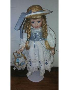 Vintage Porcelain Doll 18in by Ebay Seller