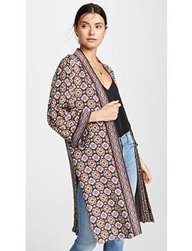 Lynn Mid Length Kimono by Alice + Olivia