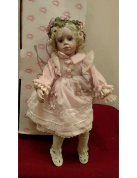 The Hamilton Collection Hc Laura Vintage 1995 Porcelain Doll Distressed Box ✞ by The Hamilton Collection