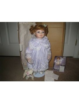 """The Hamilton Collection """"Felicia"""" Porcelain Doll By Virginia Turner 1996 by Hamilton Collection"""