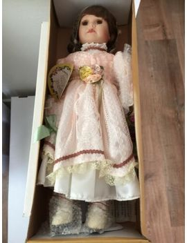 Crowne Fine Porcelain Doll Doll Stand Included With Certificate Of Authenticity by Ebay Seller