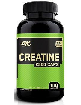 Optimum Nutrition Micronized Creatine Monohydrate Capsules, Keto Friendly, 2500mg, 100 Capsules by Optimum Nutrition