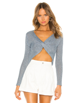Simone Twist Front Top by Superdown