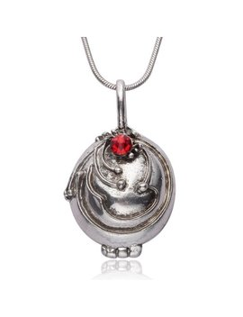 The Vampire Diaries Elena Gilbert Opening Vervain Locket Pendant Necklace by Princess Cuteness Store