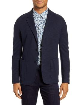 Slub Knit Blazer by Good Man Brand