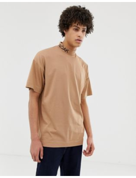 Noak T Shirt With Branded High Neck by Noak