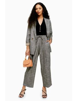 Petite Salt And Pepper Jogger Trousers by Topshop