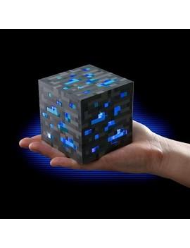 Think Geek, Inc. Minecraft Light Up Diamond Ore by Minecraft