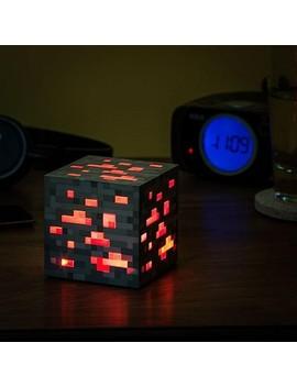 Think Geek, Inc. Minecraft Light Up Redstone Ore by Minecraft