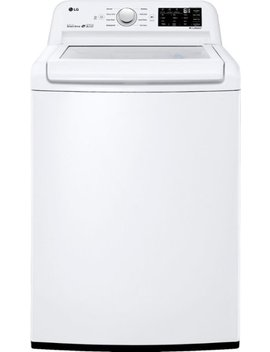 4.5 Cu. Ft. 8 Cycle Top Loading Washer   White by Lg