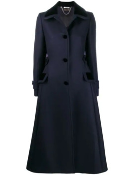 Single Breasted Tailored Coat by Miu Miu