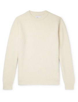 Ribbed Wool Sweater by Albam