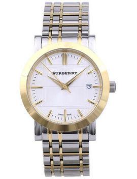 Burberry Women's Bu1573 Nova Checked Two Tone Watch by Burberry