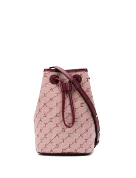 Monogram Canvas Bucket Bag by Stella Mc Cartney