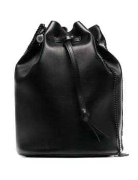 Black Falabella Bucket Bag by Stella Mc Cartney