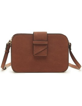 Valah Faux Leather Crossbody Bag by Sole Society