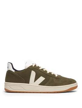 V 10 Low Top Suede Trainers by Veja