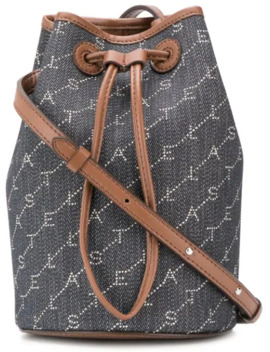 Mini Monogram Bucket Bag by Stella Mc Cartney