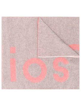 Sjaal Met Toronty Logo by Acne Studios