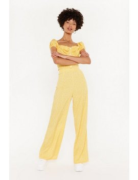 Not Your Day Wide Leg Trousers by Nasty Gal