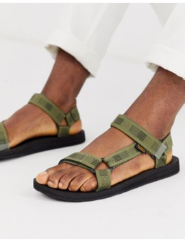 Teva Original Universal Tech Sandals In Khaki by Teva