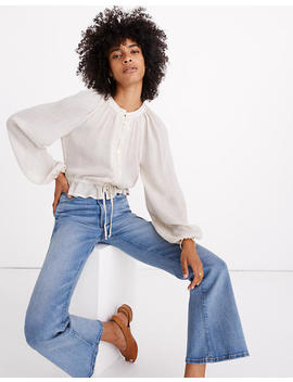 Madewell X Christy Dawn Josephine Peasant Top by Madewell