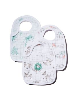 X Disney Lion King Snap Bibs, 3 Pack by Aden And Anais