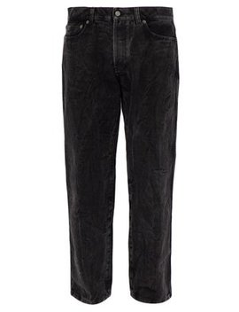 Washed Straight Leg Jeans by Givenchy