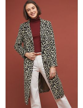 Spotted Coat by Anthropologie