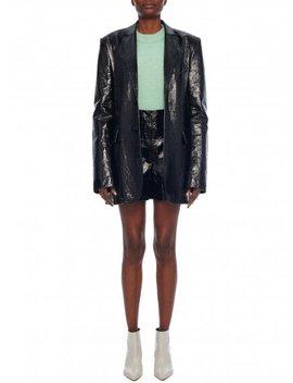 Leather Blazer by Tibi
