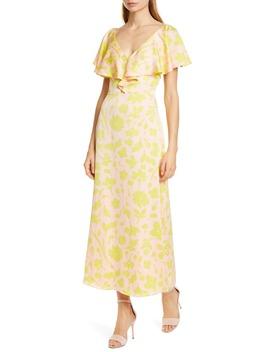 Splash Ruffle Neck Dress by Kate Spade New York
